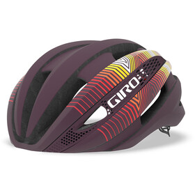 Giro Synthe MIPS Cykelhjelm, matte dusty purple/heatwave
